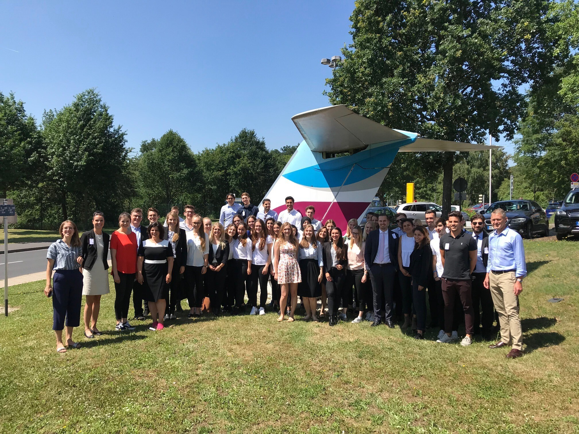 All participants for the event at eurowings
